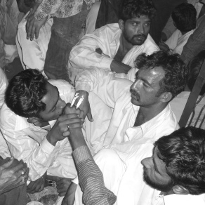 Noche sufí en Lahore, Pakistán. 2008
