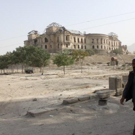Palacio de Darul Alam en Kabul, Afganistán. 2011