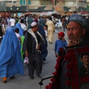 Mercado en Kabul, Afganistán. 2011