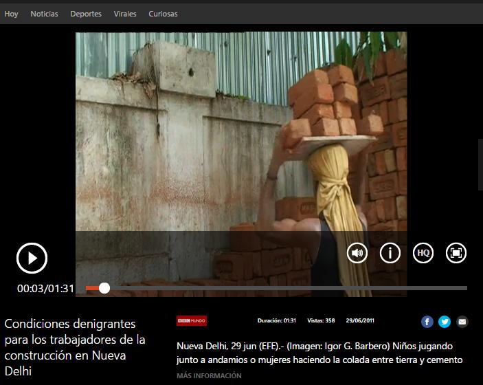 nios jugando junto a andamios o mujeres haciendo la colada entre tierra y cemento son escenas habituales en los edificios en construccin de las ciudades